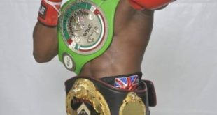 Isaac Dogboe Knocks Out Argentine Julian Evaristo
