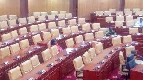 Only 5 Minority MPs in parliament today