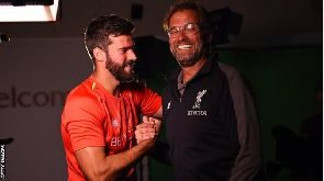 Liverpool make Brazilian world's most expensive keeper