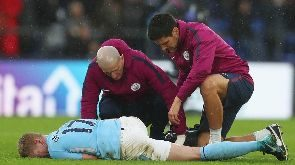 Man City's Kevin de Bruyne out for three months