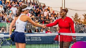 Serena Williams learned just before Johanna Konta loss that half-sister's killer had been freed