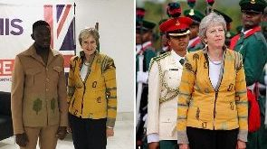 Nigerian designer of Theresa May's African jacket thrilled