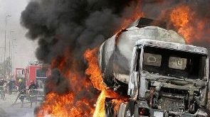Nigerian gas tanker explosion kills at least 35