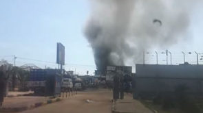 Kokomba Market fire: One person in critical condition