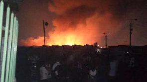 Cause of Odawna market fire unknown – Fire service