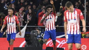 Thomas Partey in Atletico Madrid squad for Copa del Rey clash against Girona